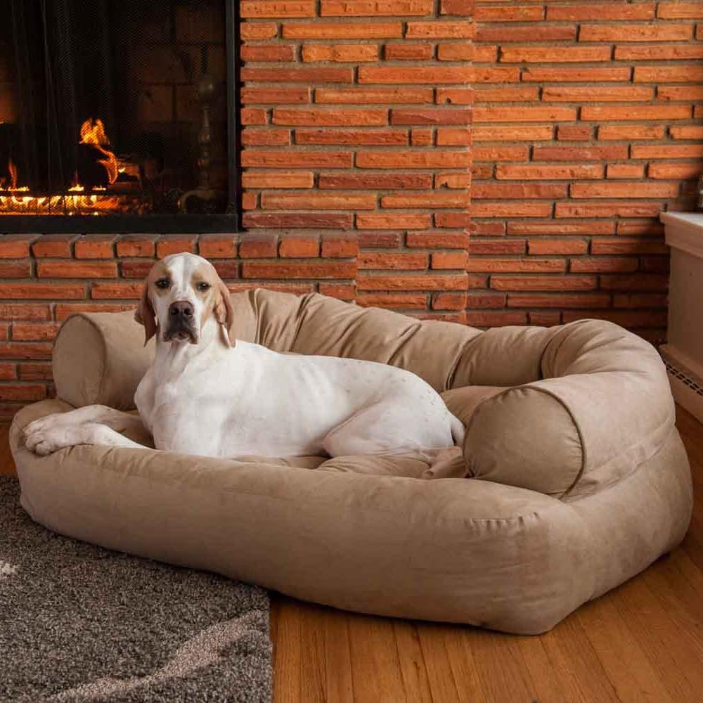 Snoozer Luxury Dog Sofa   Dog Couch   Microsuede Fabric Regarding Dog Sofas And Chairs (Image 12 of 20)