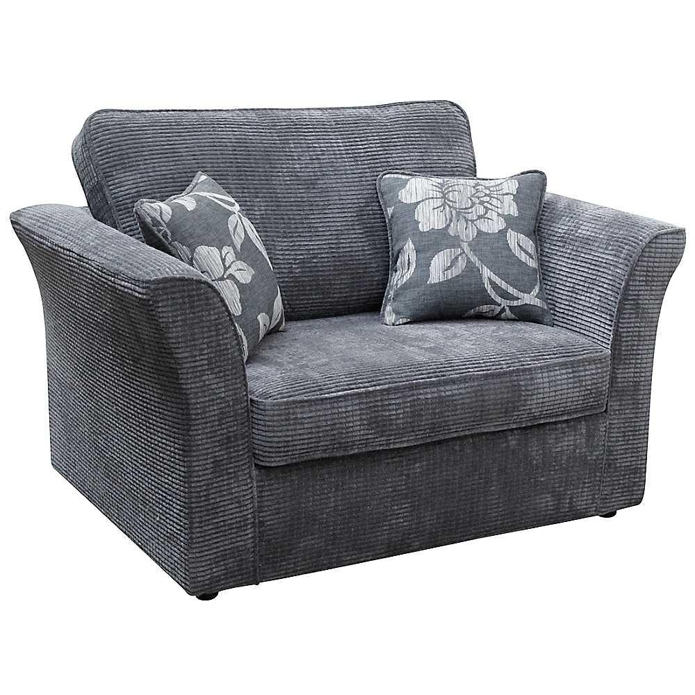Snuggle sofa cuddle chair leather fabric swivel chairs for Sofa chair