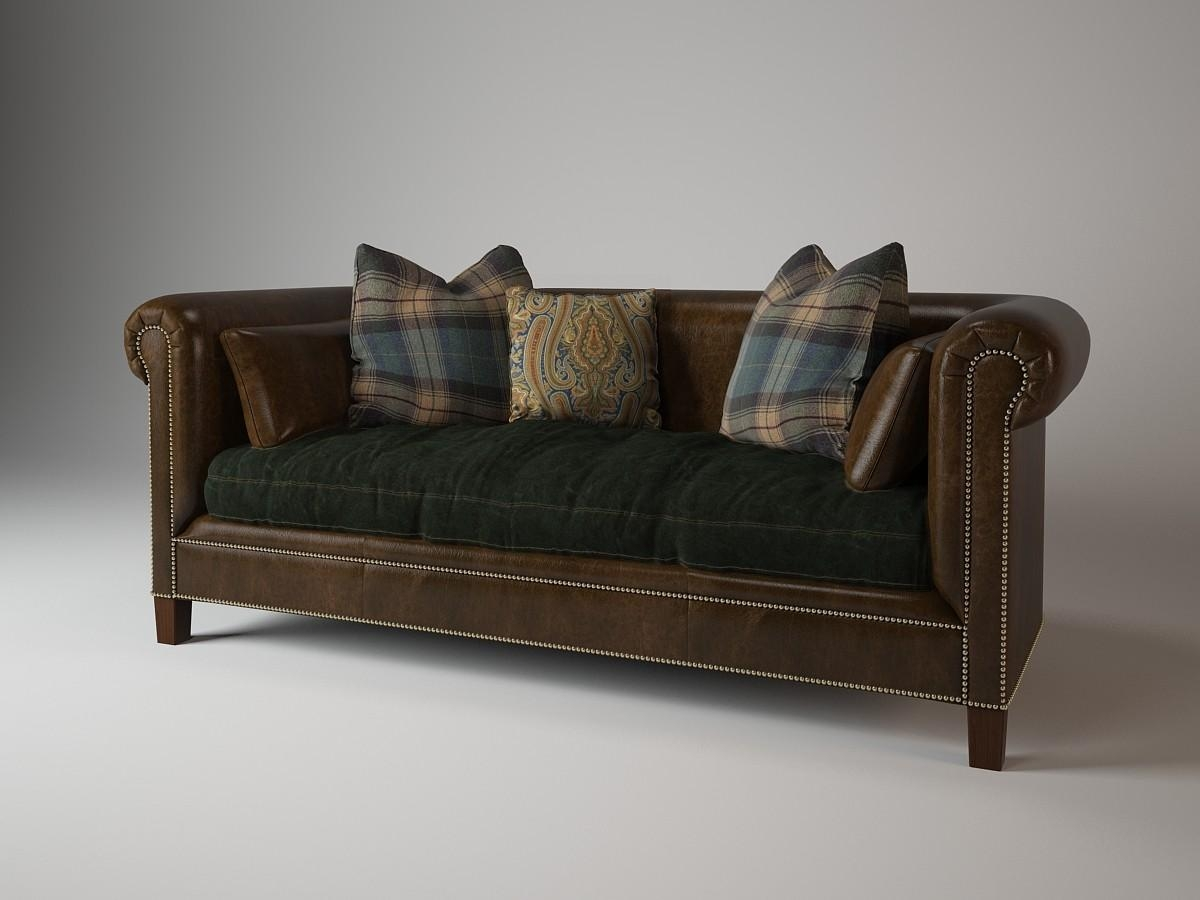 Sofa 911 01 Ralph 3D Max With Regard To Brompton Leather Sofas (Image 17 of 20)