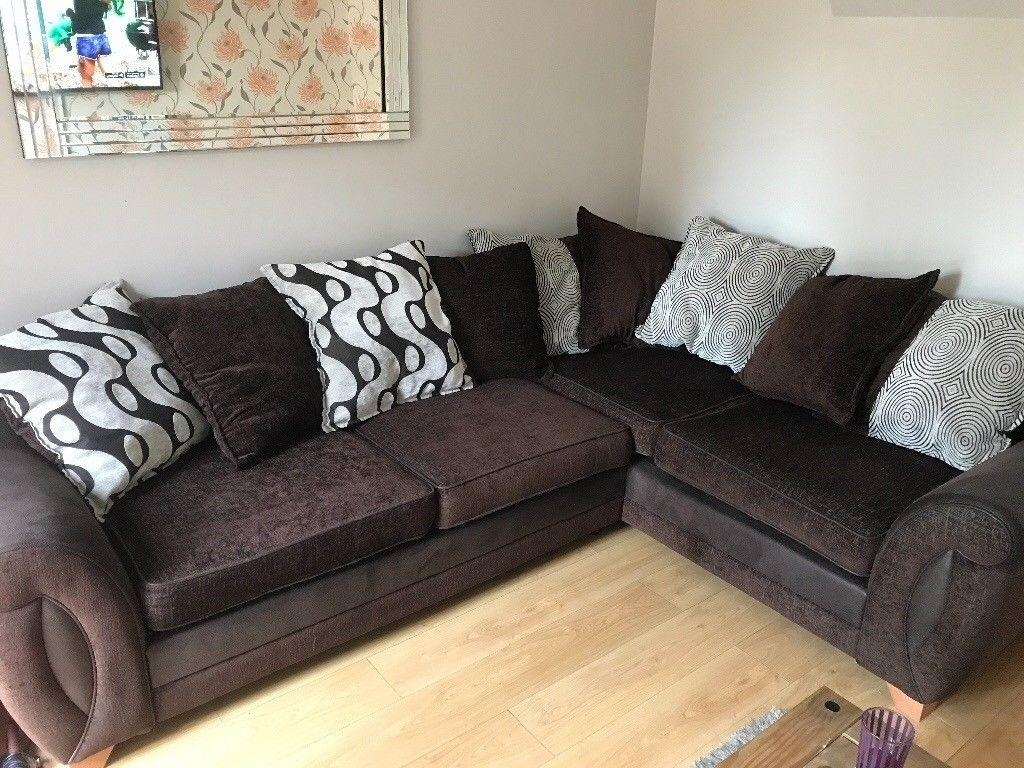 Sofa As New (Cambridgeshire) | Home & Garden Pertaining To 2×2 Corner Sofas (Image 17 of 20)