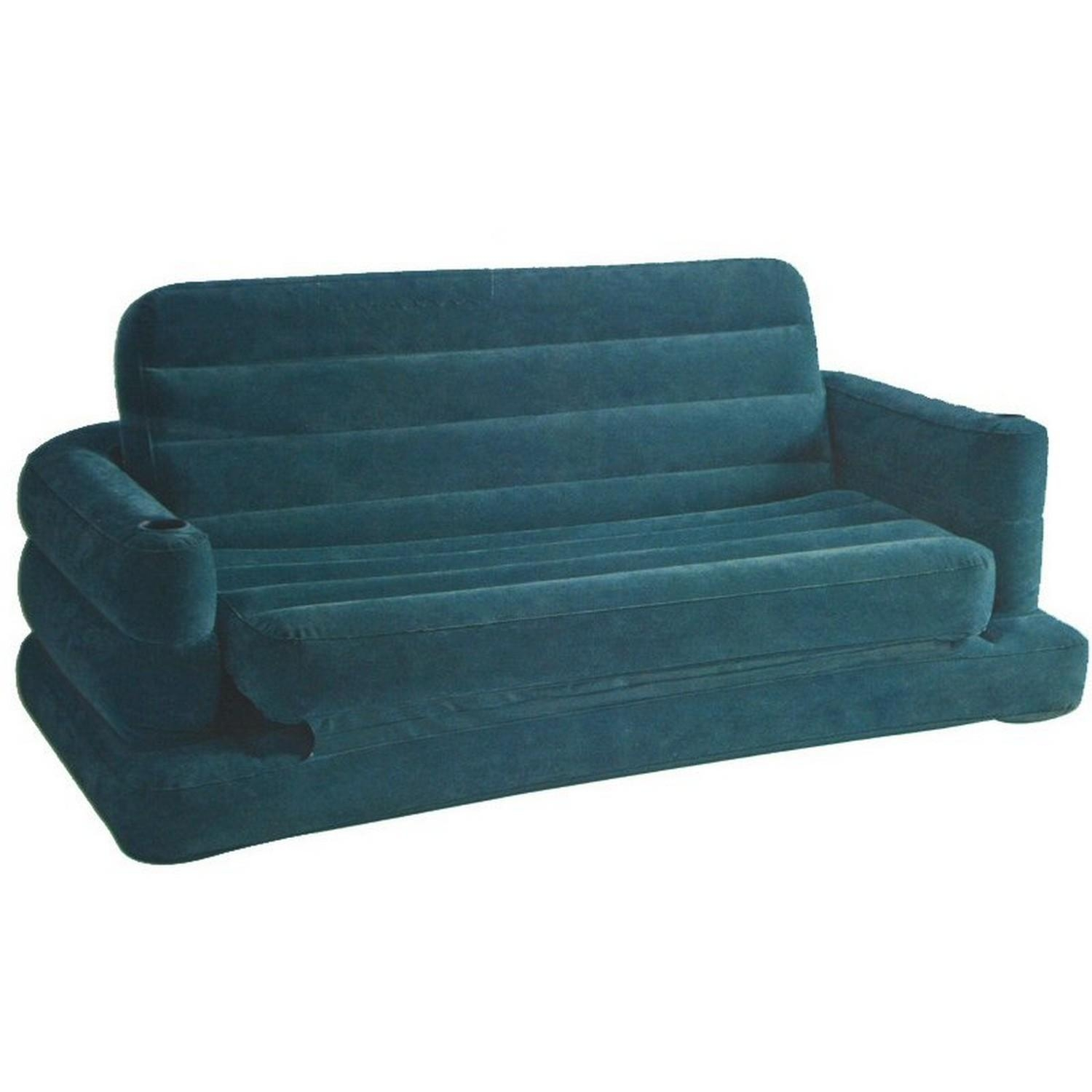 Sofa Bed Air Mattress Inflatable Pull Out Air Sofa Bed Mattress For Intex Inflatable Pull Out Sofas (Image 19 of 20)