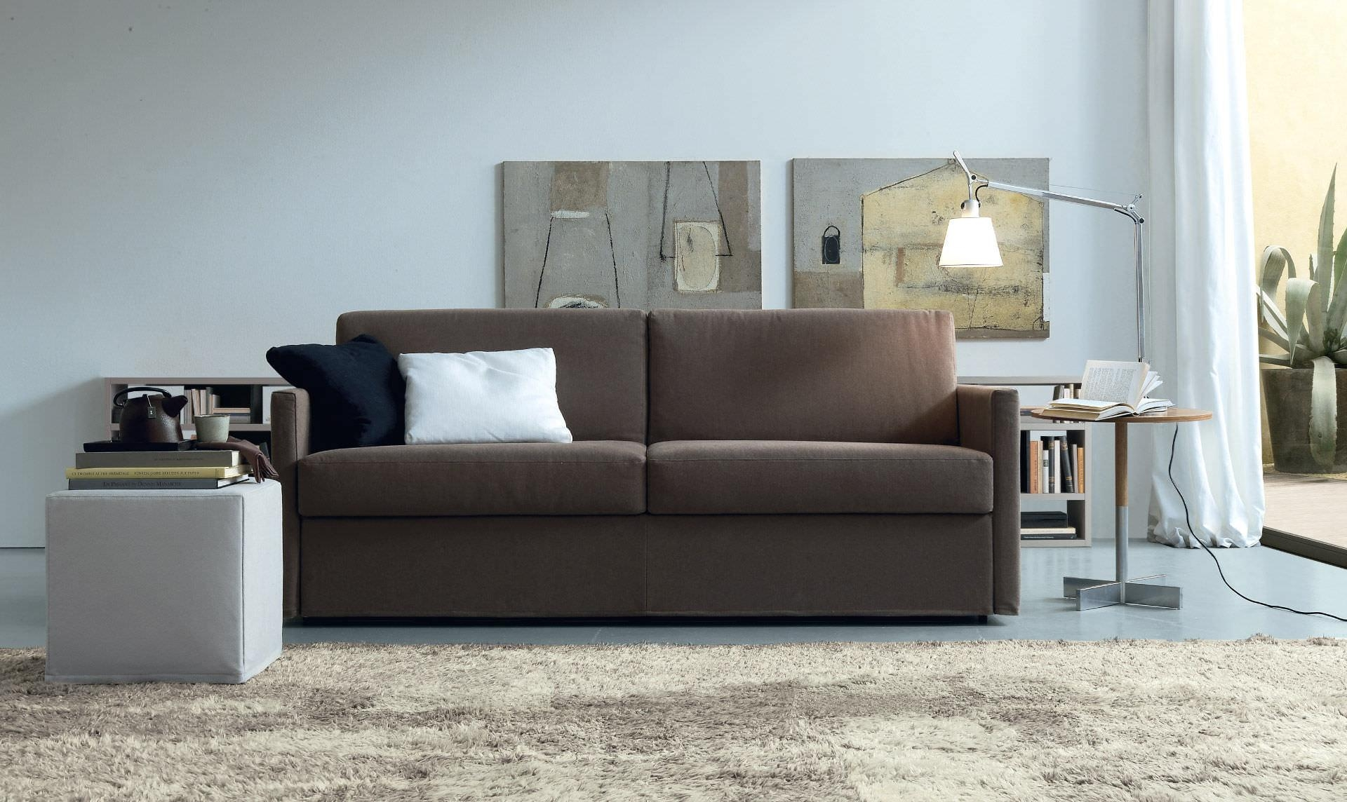 Sofa Bed / Contemporary / Fabric / 2 Seater – Luis – Jesse Inside Contemporary Fabric Sofas (Image 18 of 20)
