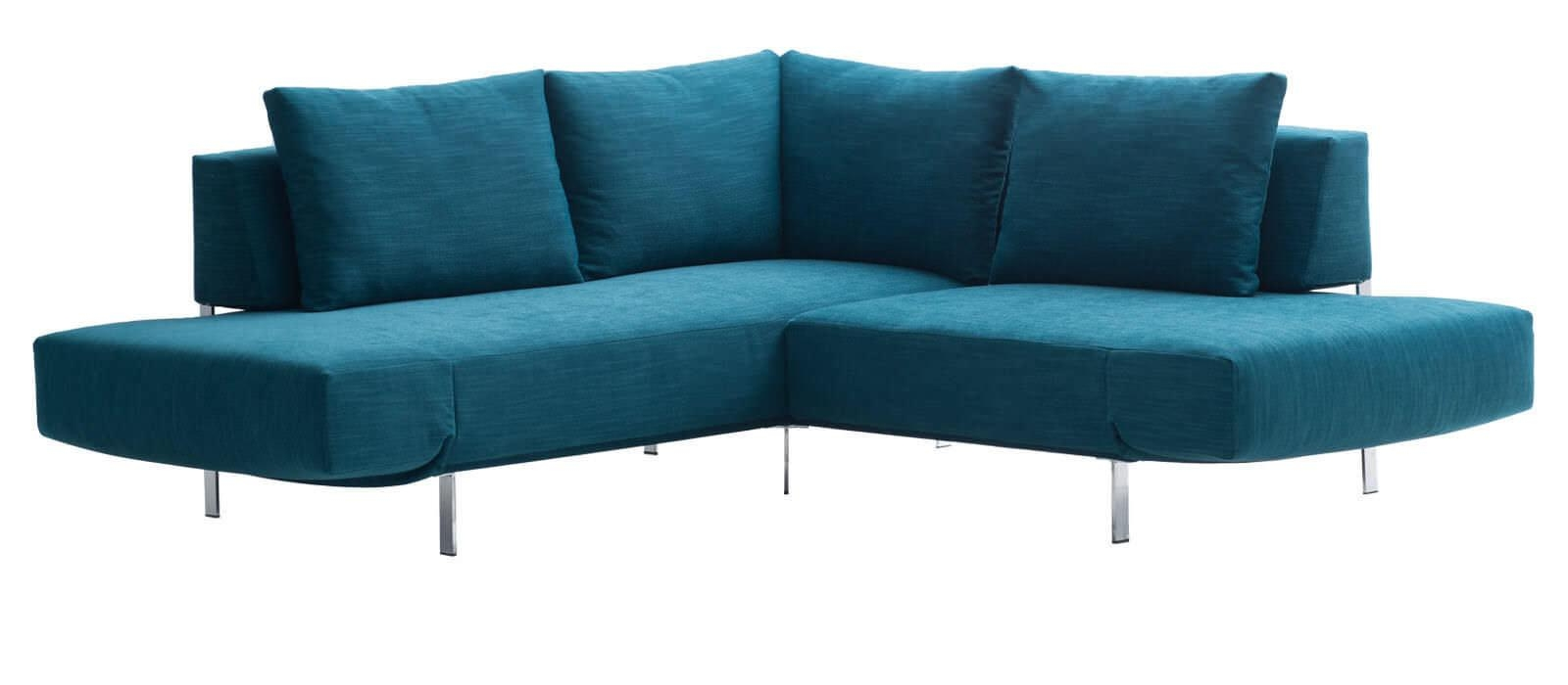 Sofa Bed / Corner / Contemporary / Fabric – Loftj (Image 19 of 20)