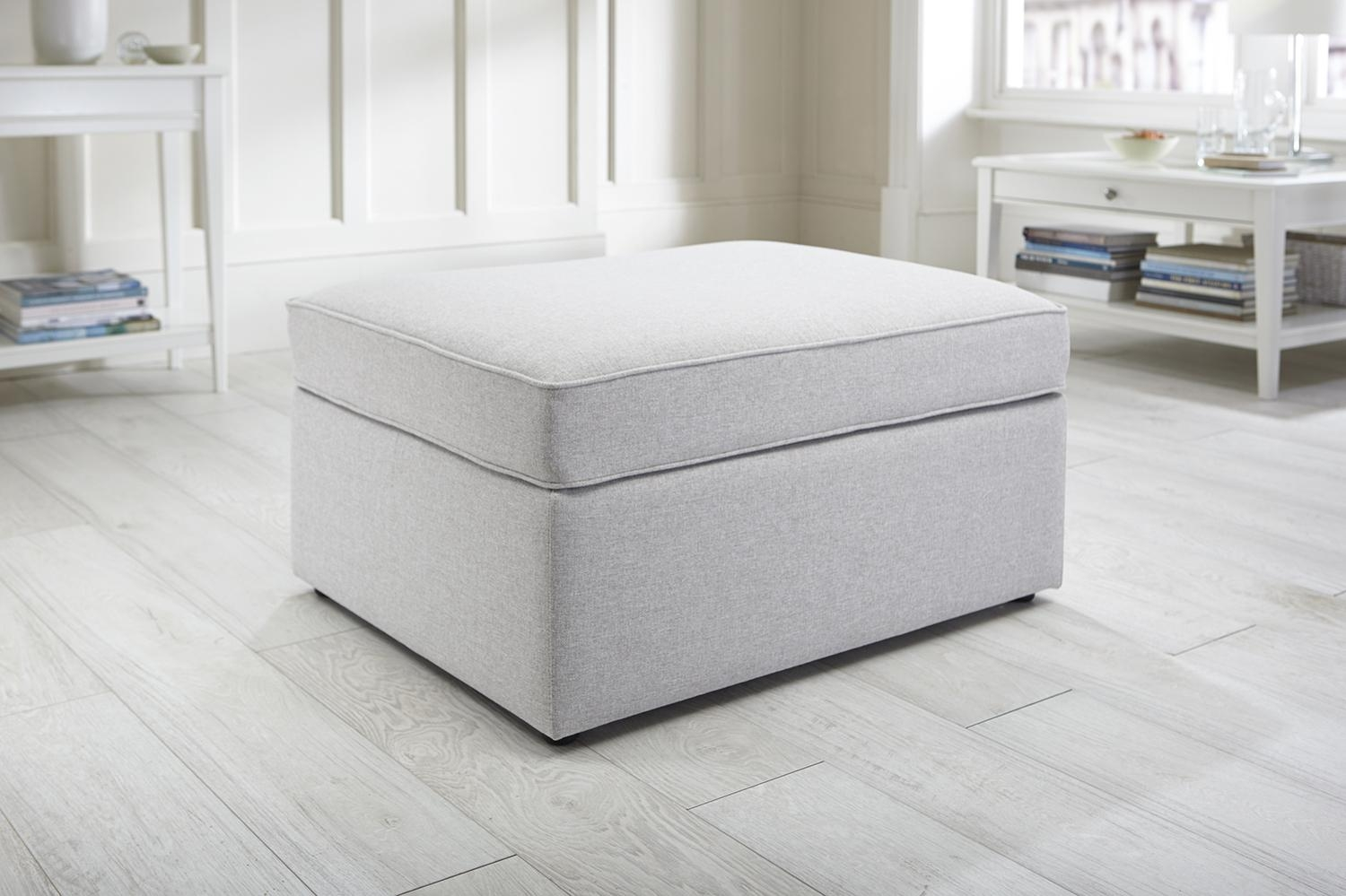 Featured Photo of Footstool Pouffe Sofa Folding Bed