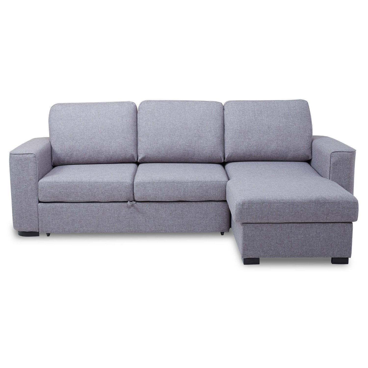 Sofa Bed With Storage Chaise Metro Lounge Costco Sectional In Sofa Beds With Storage Chaise (Image 13 of 20)