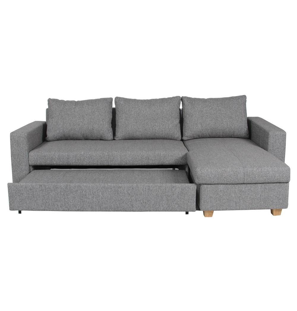 Sofa Bed With Storage Chaise Metro Lounge Costco Sectional Within Sofa Beds With Storage Chaise (Image 14 of 20)