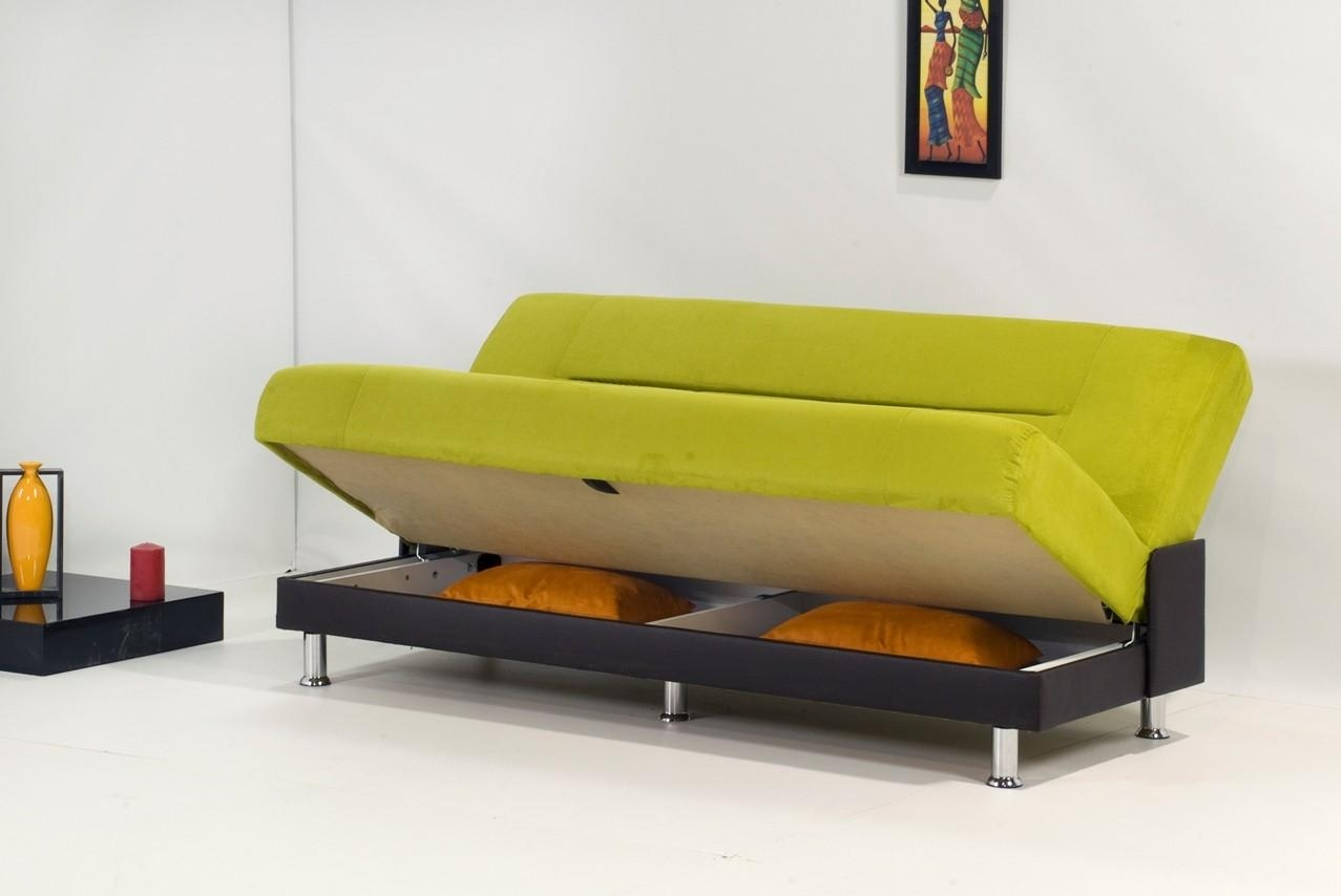 Sofa Bed With Storage Underneath Sofa Bed With Under Storage For Sofa Beds With Storage Underneath (Image 14 of 20)