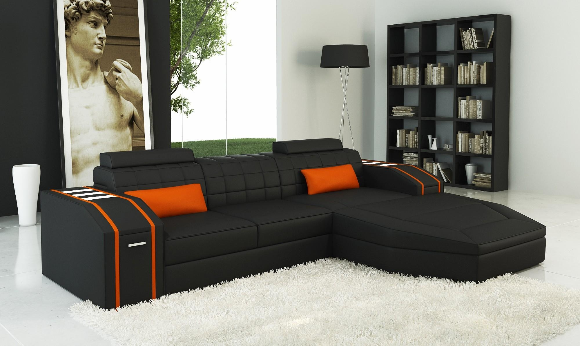 Sofa: Cheap Leather Couch Modern 2017 Ideas Italian Leather Sofas Throughout Cheap Black Sofas (Image 14 of 20)