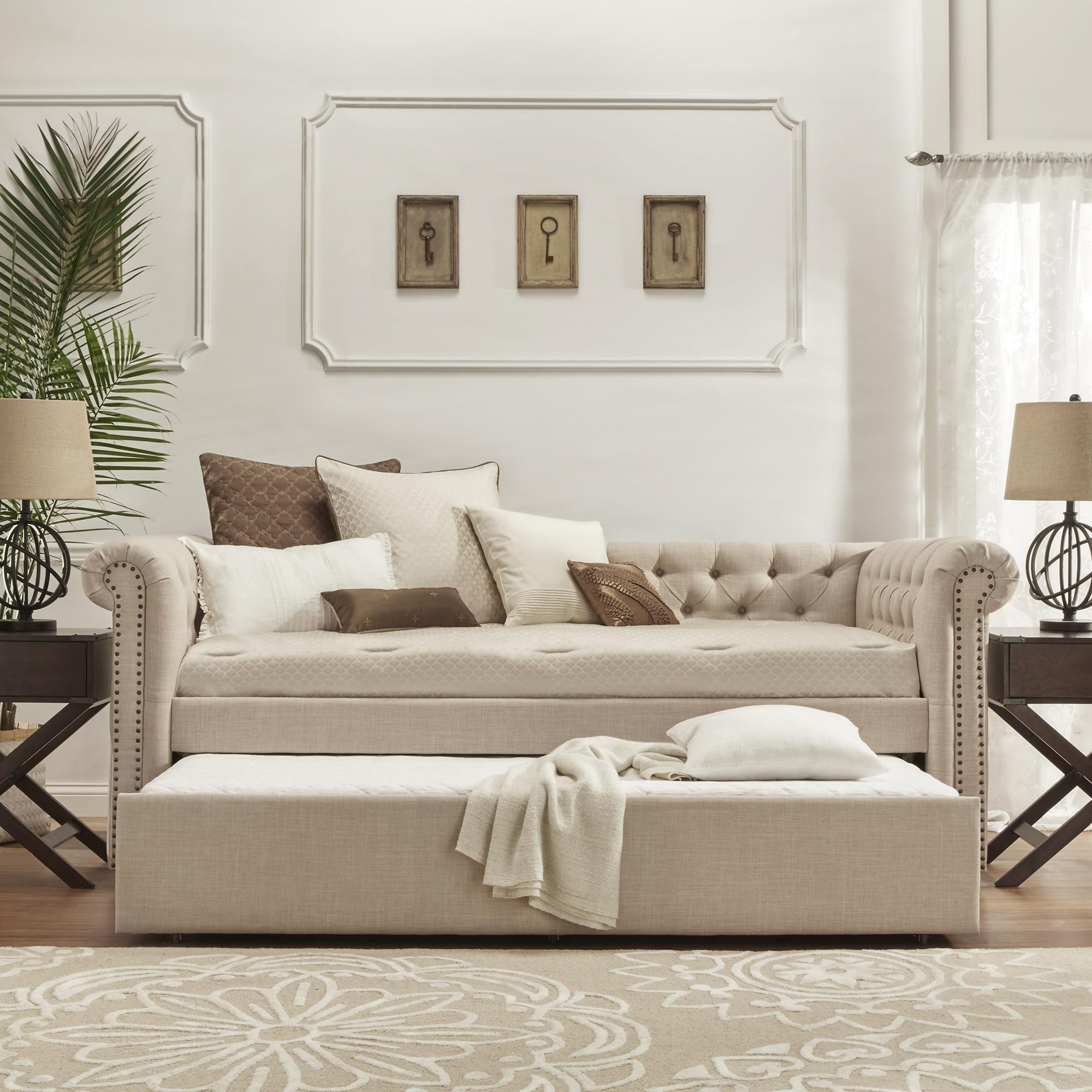 Sofa Daybed With Trundle With Concept Hd Pictures 18539 | Kengire intended for Sofas Daybed With Trundle