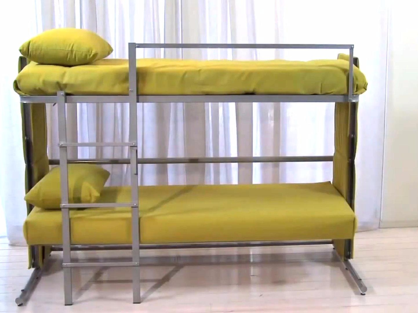 Sofa Folds Out Into A Bunk Bed – Business Insider Throughout Sofa Bunk Beds (View 9 of 20)