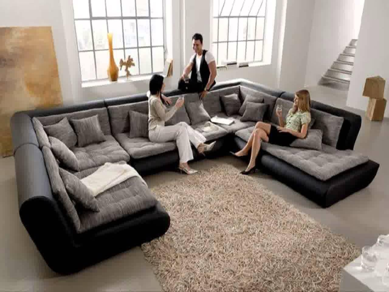 Sofa: Grey Chaise Sectional | Cool Couches | Sofas And Sectionals Within Sofas And Sectionals (Image 17 of 20)