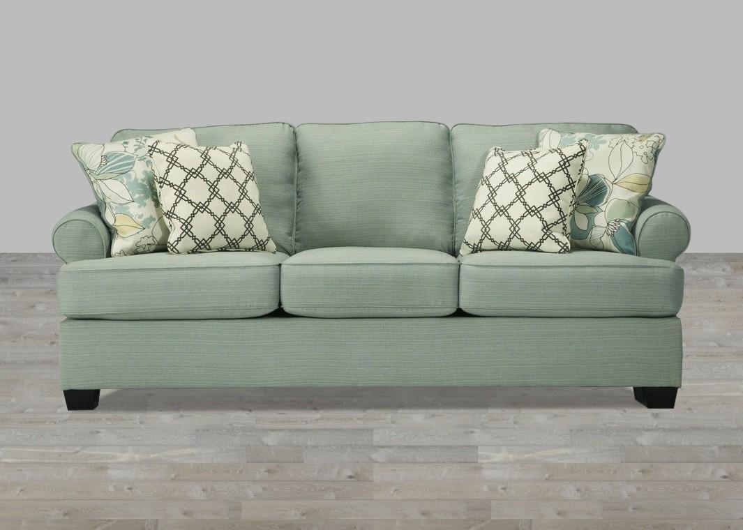 Sofa In Seafoam With Regard To Seafoam Sofas (Image 19 of 20)