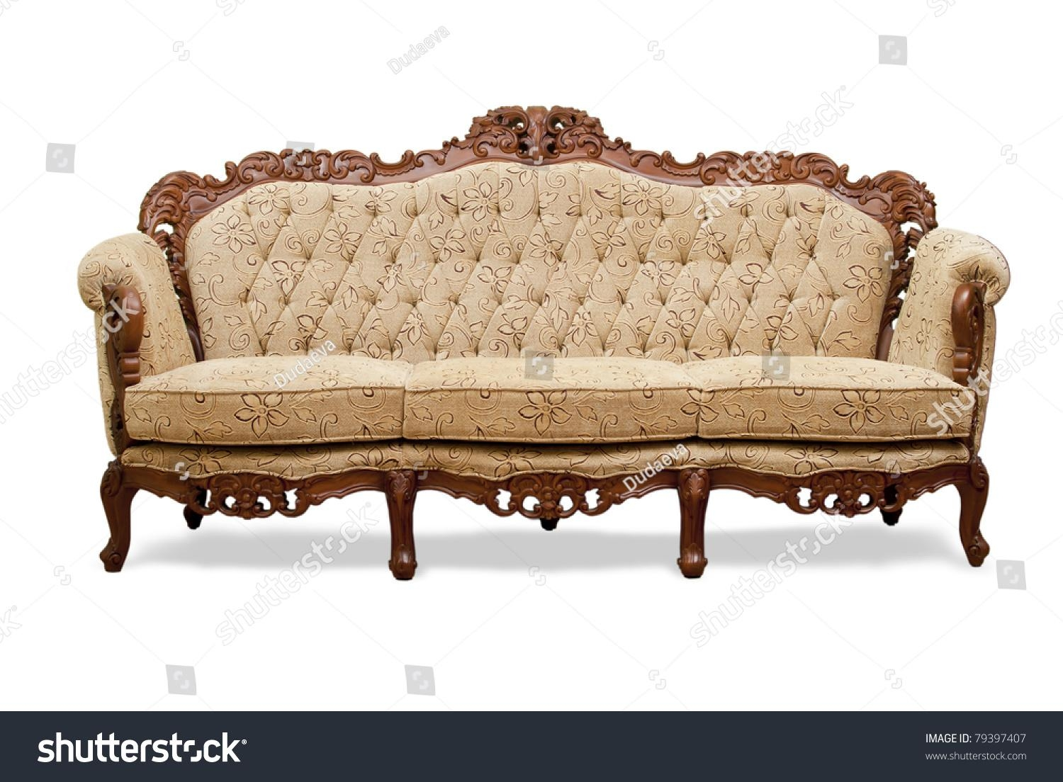 Sofa Leather And Wood With Regard To Carved Wood Sofas (Image 18 of 20)