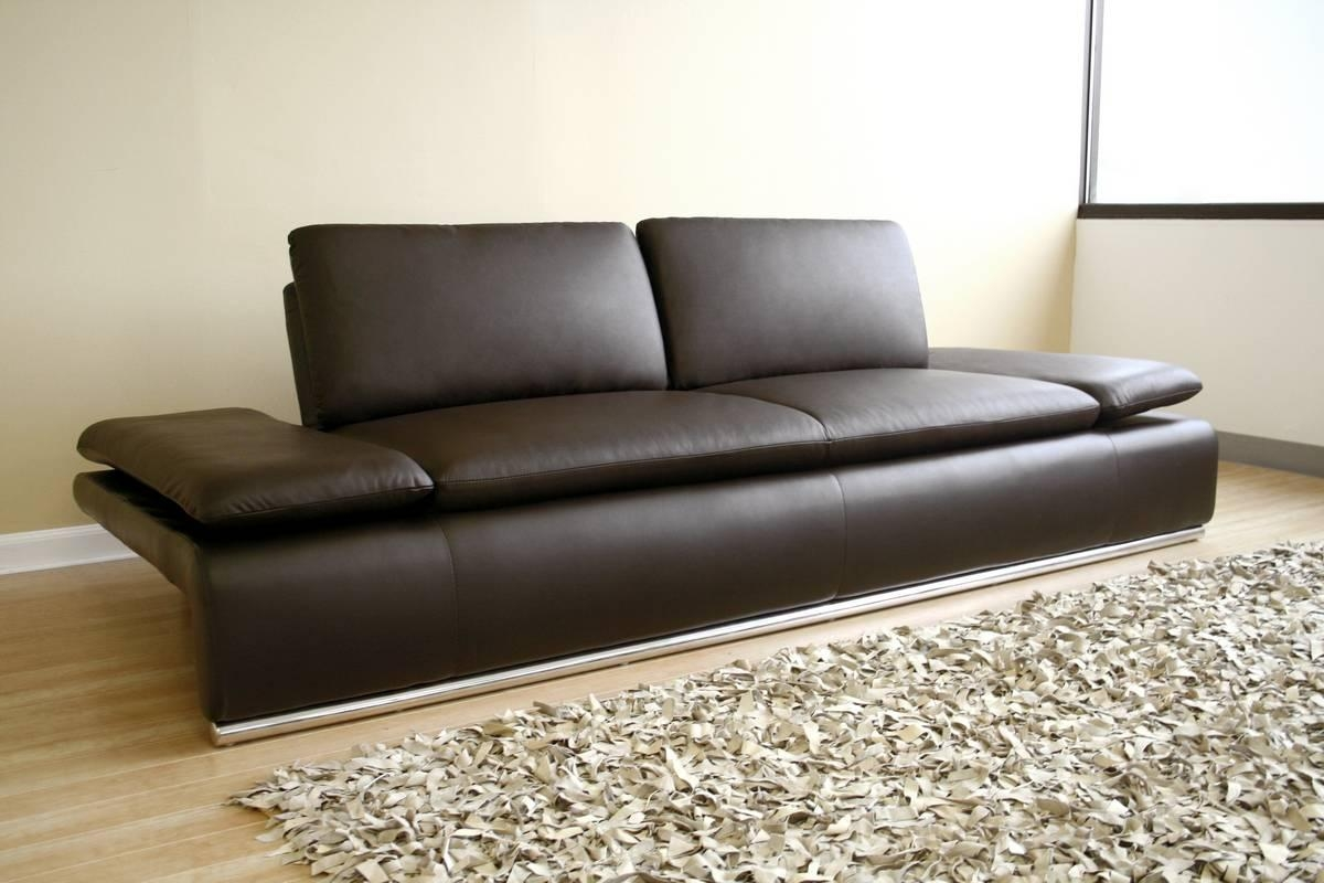 Sofa Leather | Sofa Designs Pictures Pertaining To Contemporary Brown Leather Sofas (View 12 of 20)