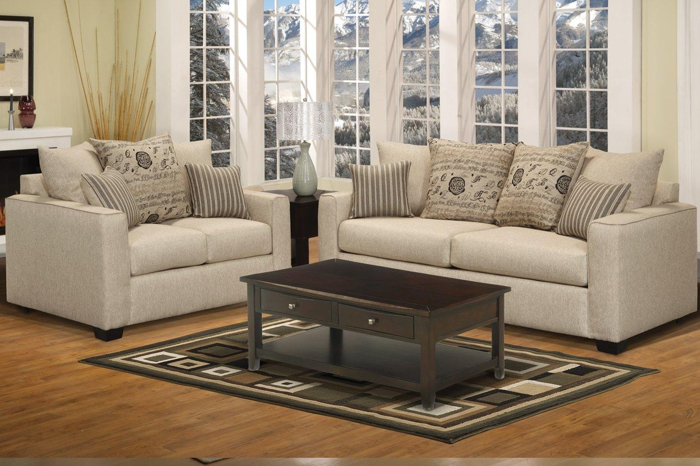 Sofa & Loveseat Set – Steal A Sofa Furniture Outlet Los Angeles Ca Intended For Sofa Loveseat And Chairs (Image 18 of 20)