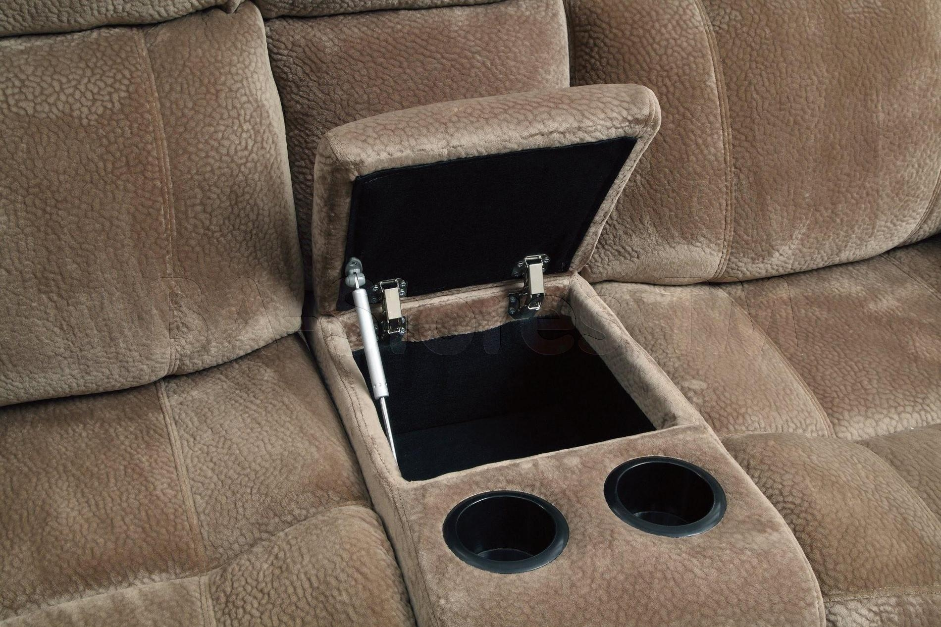 Sofa Recliners With Cup Holders Within Sofas With Cup Holders (View 15 of 20)