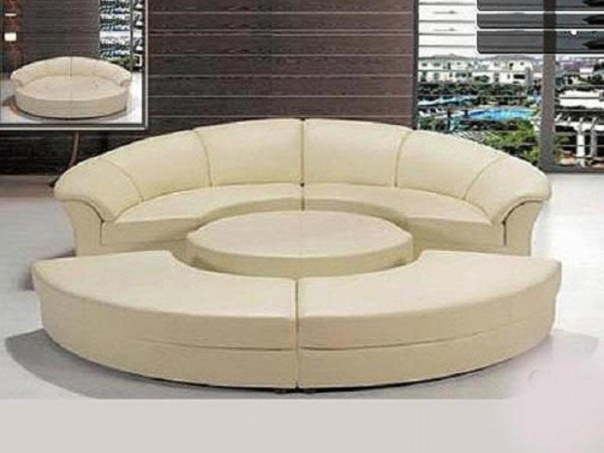 Sofa Round Sectional Bed | Tamingthesat Within Round Sofas (Image 14 of 20)