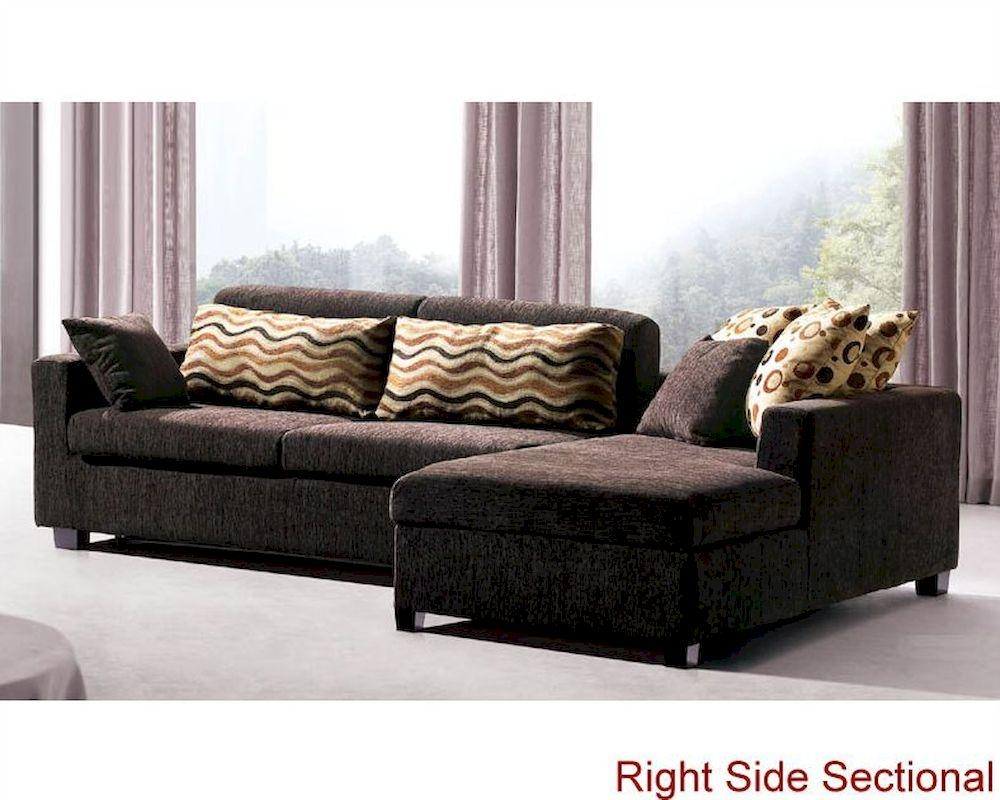 Sofa Set With Sleeper Sofa And Storage Chaise 33Ls121 For Sectional Sofa With Storage (Image 17 of 20)