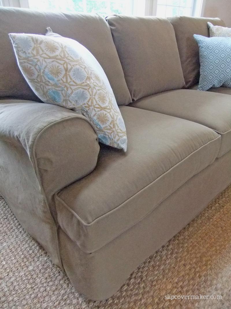 Sofa Slipcover | The Slipcover Maker Pertaining To Denim Sofa Slipcovers (Image 16 of 20)
