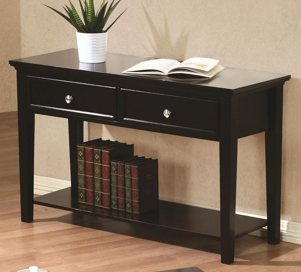 Featured Photo of Sofa Table Drawers