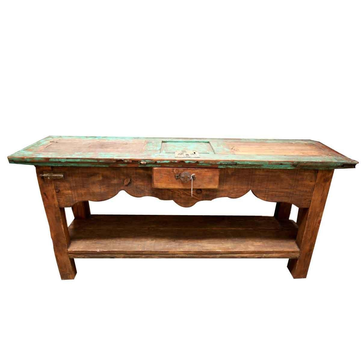 Sofa Tables | Order Rustic Sofa Table Online For Barnwood Sofa Tables (Image 18 of 20)