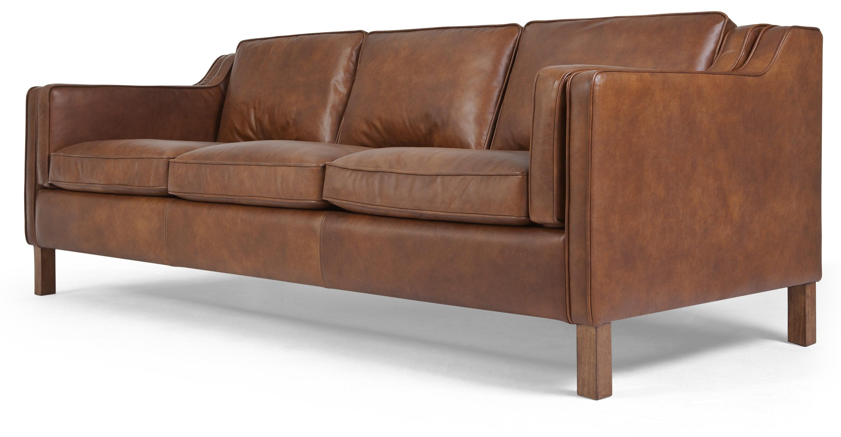 Sofas Center : 45 Fascinating Mid Century Modern Leather Sofa Regarding Mid Century Modern Leather Sectional (Image 12 of 20)