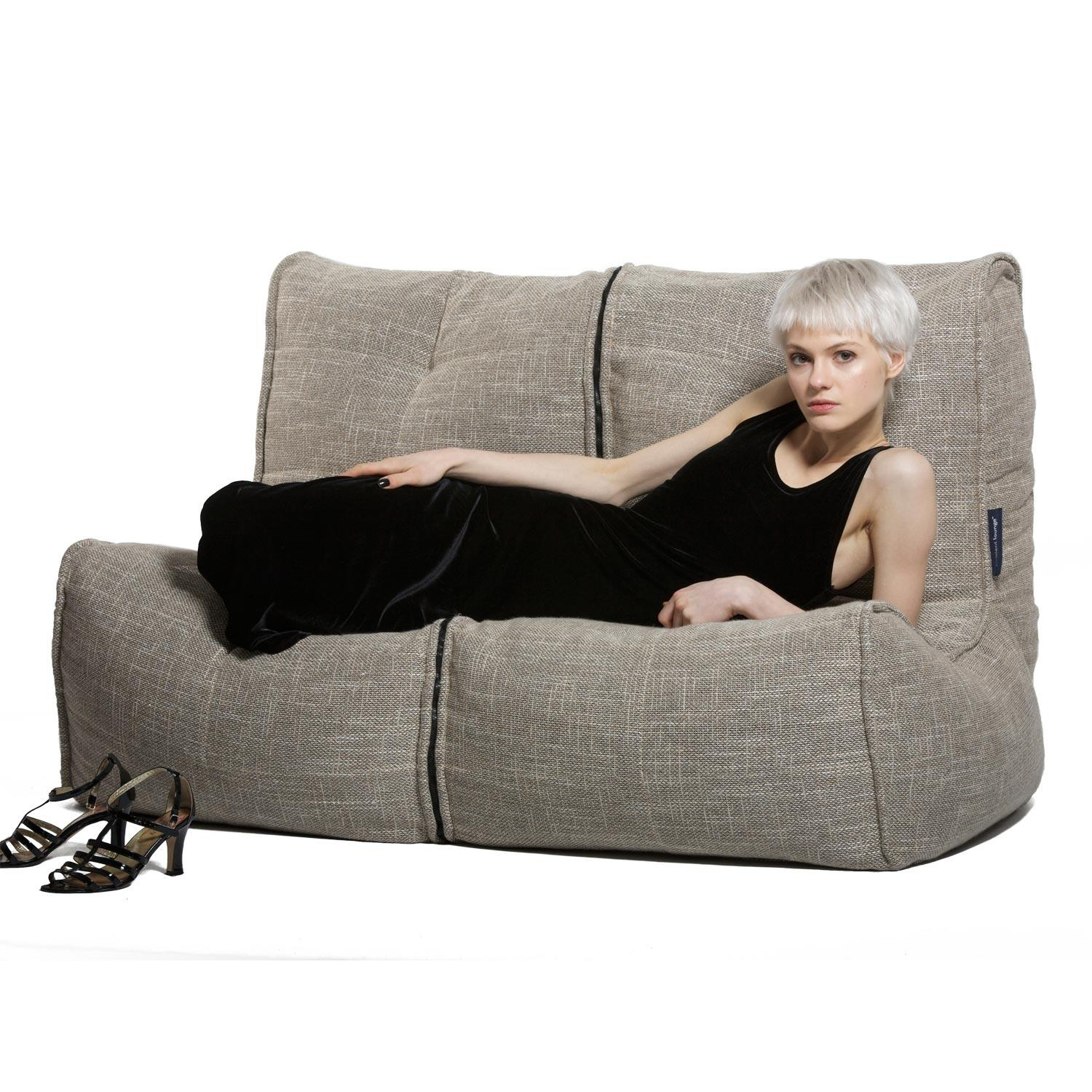 Sofas Center : 46 Staggering Bean Bag Sofa Photos Ideas Bean Bag For Bean Bag Sofas And Chairs (Image 18 of 20)