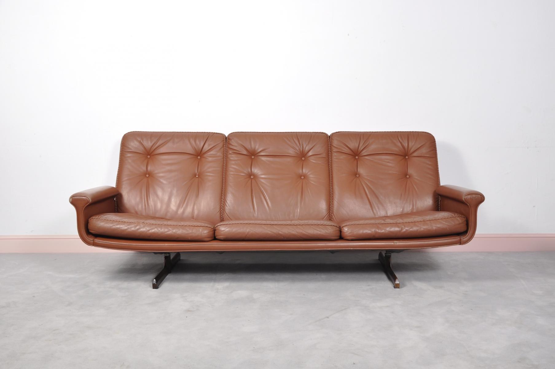Sofas Center : Amazing Mid Century Modern Leather Sofa With Within Shaker Sofas (Image 17 of 20)