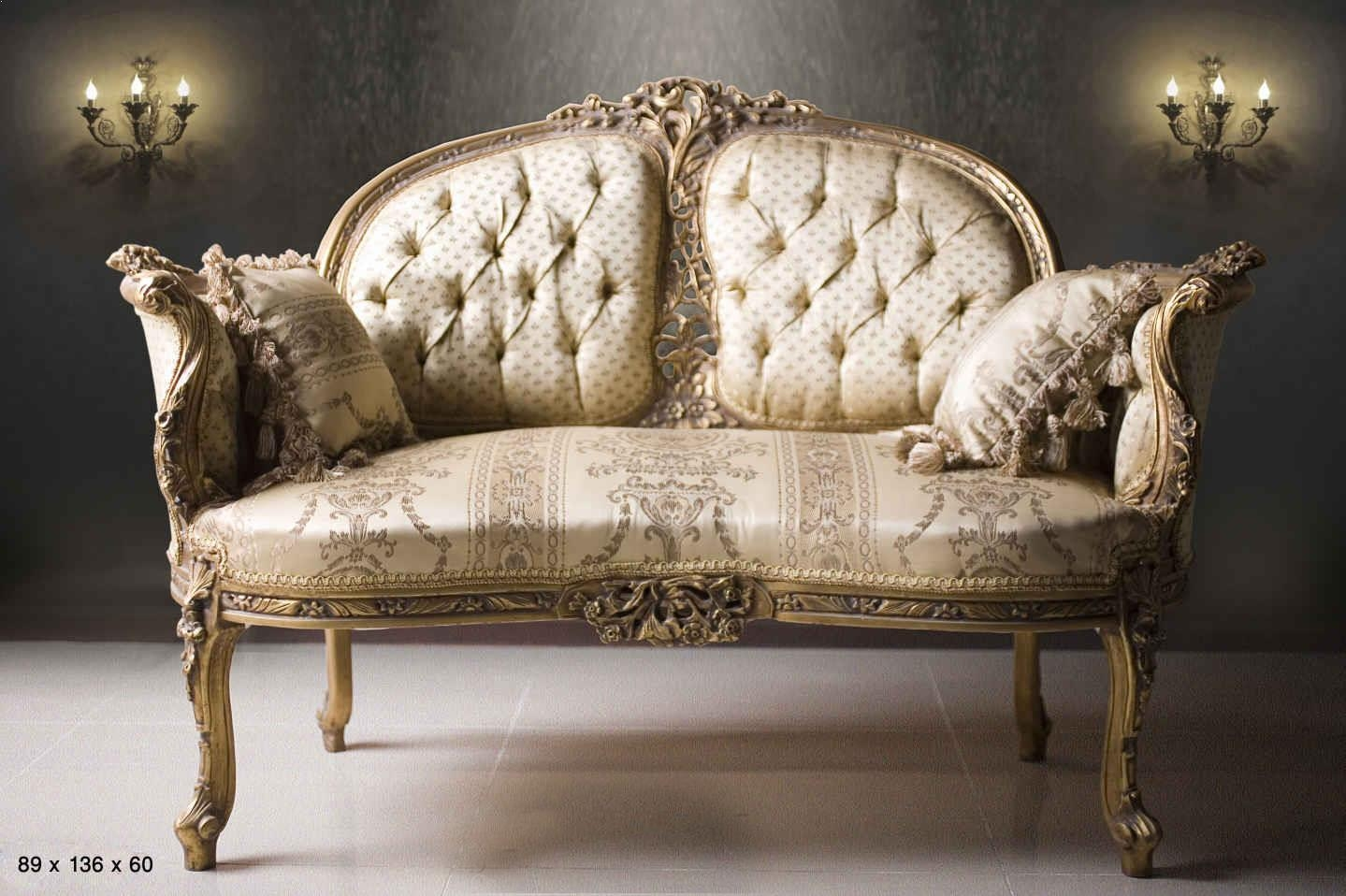 Sofas Center : Antique French Empire Style Sofa 1900S Victorian For French Style Sofas (Image 17 of 20)