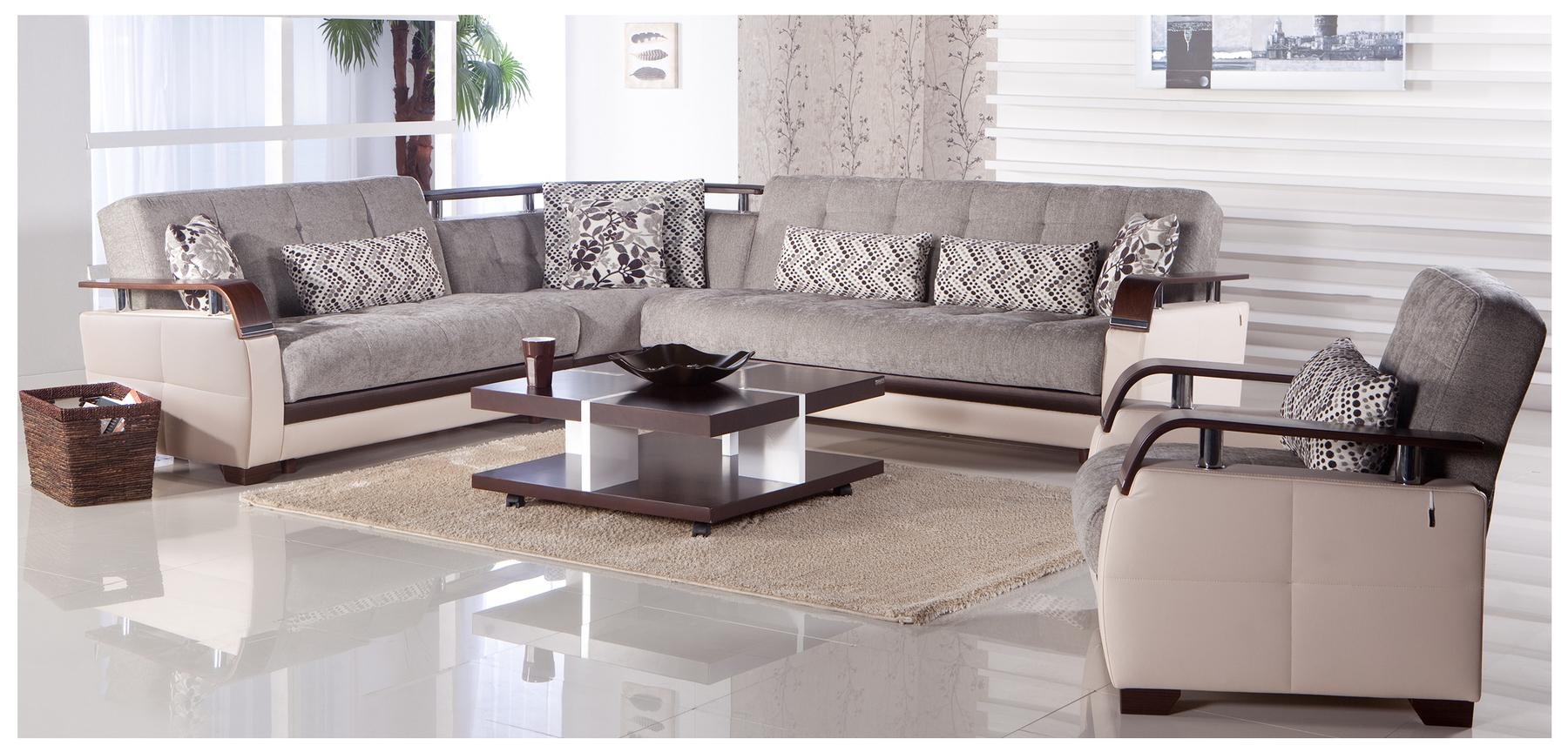 Sofas Center : Appealing Cream Colored Sectional Sofa On Leather With Regard To Modern Sofas Houston (Image 13 of 20)