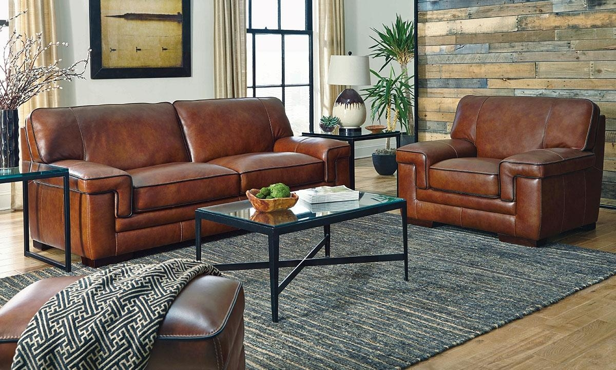 Sofas Center : Archaicawful Caramel Leather Sofa Pictures Ideas Pertaining To Carmel Leather Sofas (Image 14 of 20)