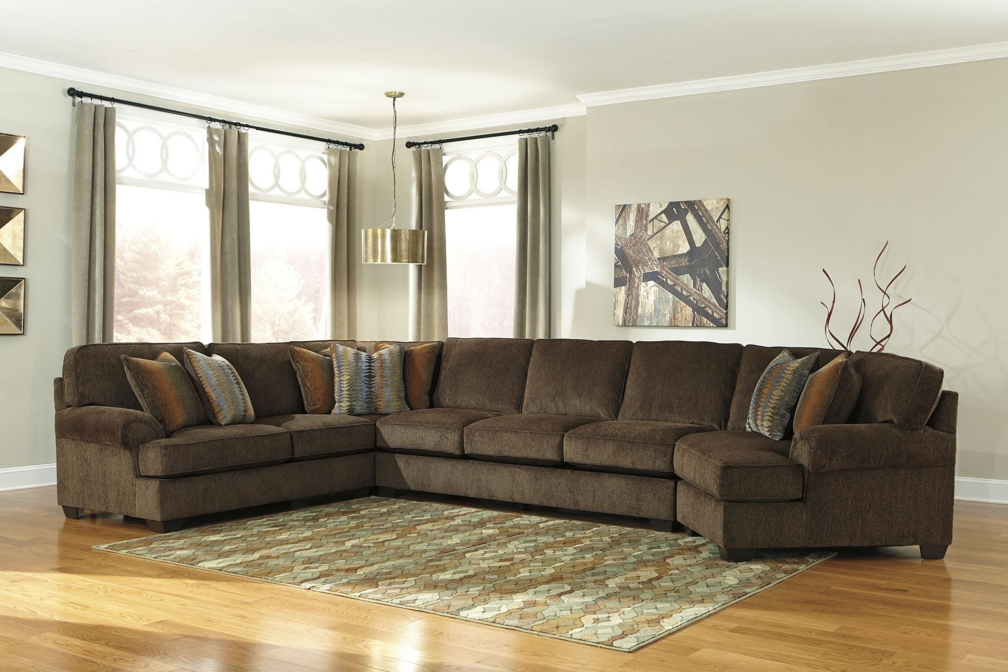 20 Best Ideas Ashley Furniture Brown Corduroy Sectional Sofas Sofa Ideas