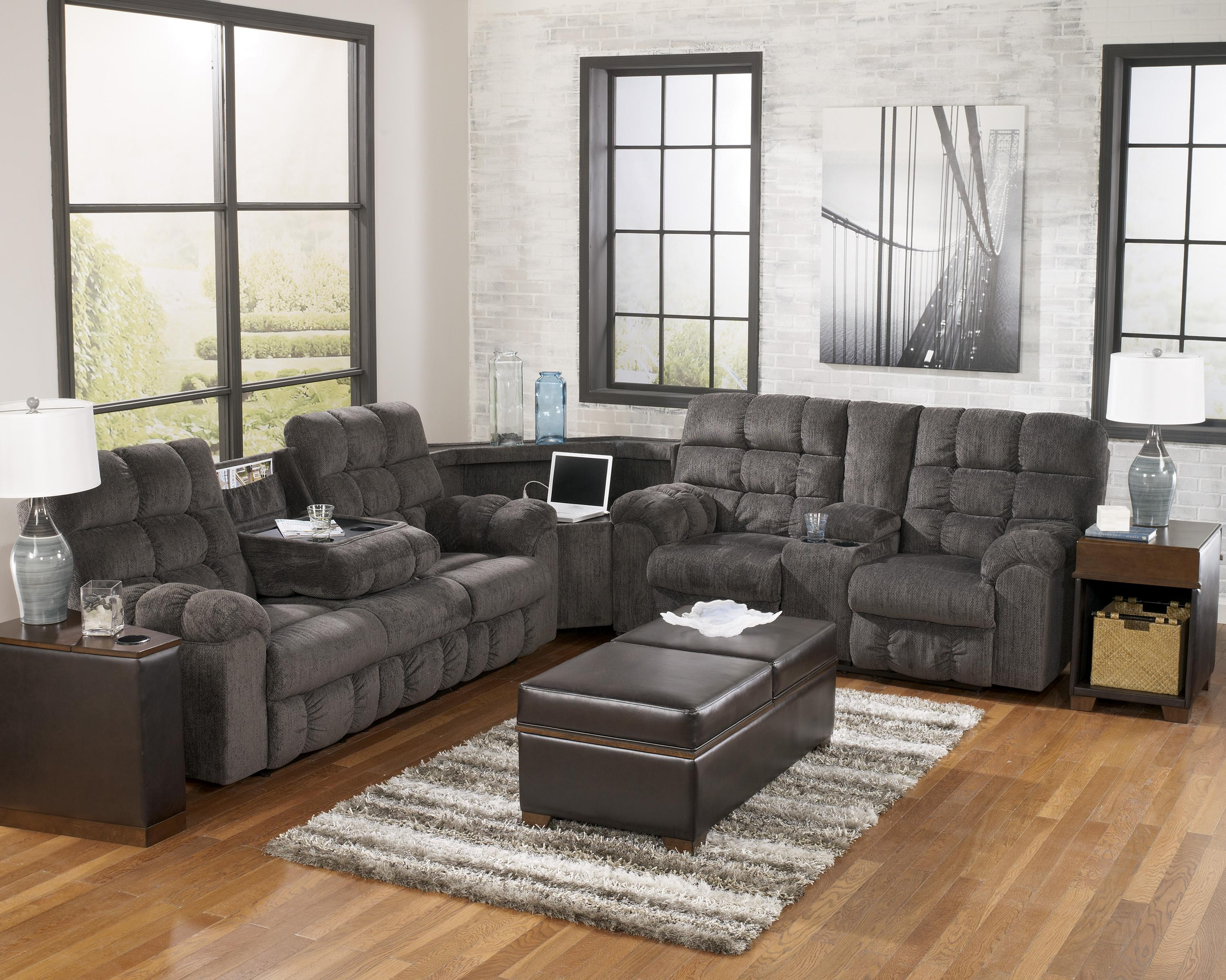 Sofas Center : Ashley Furniture Sectionals Sectional Couch Gray For Ashley Furniture Brown Corduroy Sectional Sofas (View 3 of 20)