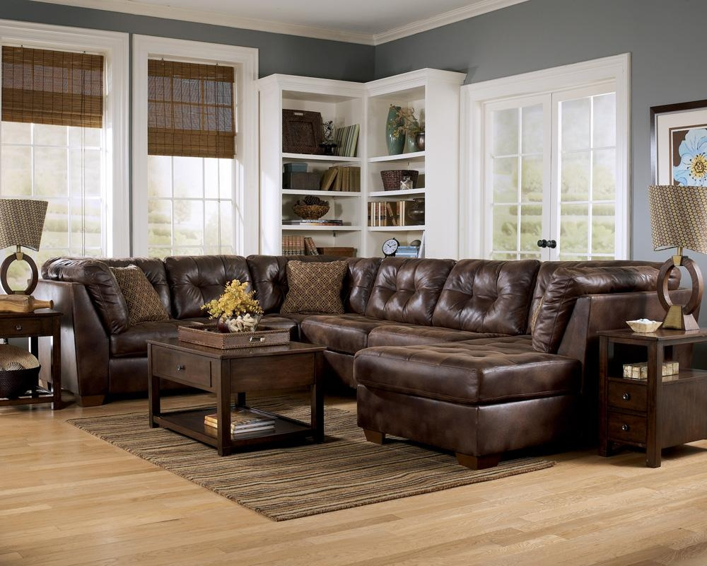 Sofas Center : Ashley Furniture Sectionals Sectional Couch Gray With Ashley Furniture Leather Sectional Sofas (Image 17 of 20)
