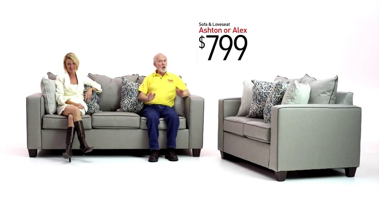 Sofas Center : Ashton And Alex Sofa Sets Bobs Discount Furniture Intended For Ashton Sofas (View 17 of 20)