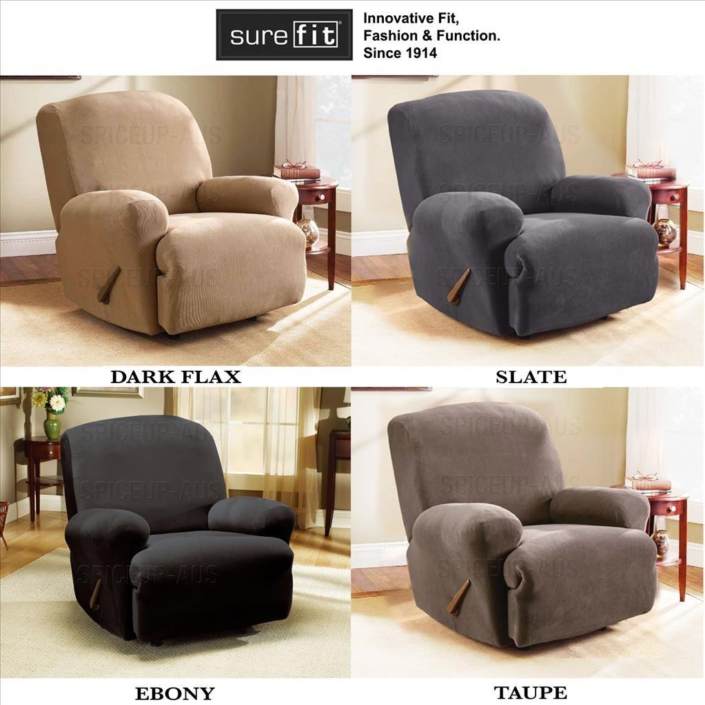 Sofas Center : Awesome Reclining Sofa Slipcover Images Intended For Recliner Sofa Slipcovers (View 17 of 20)