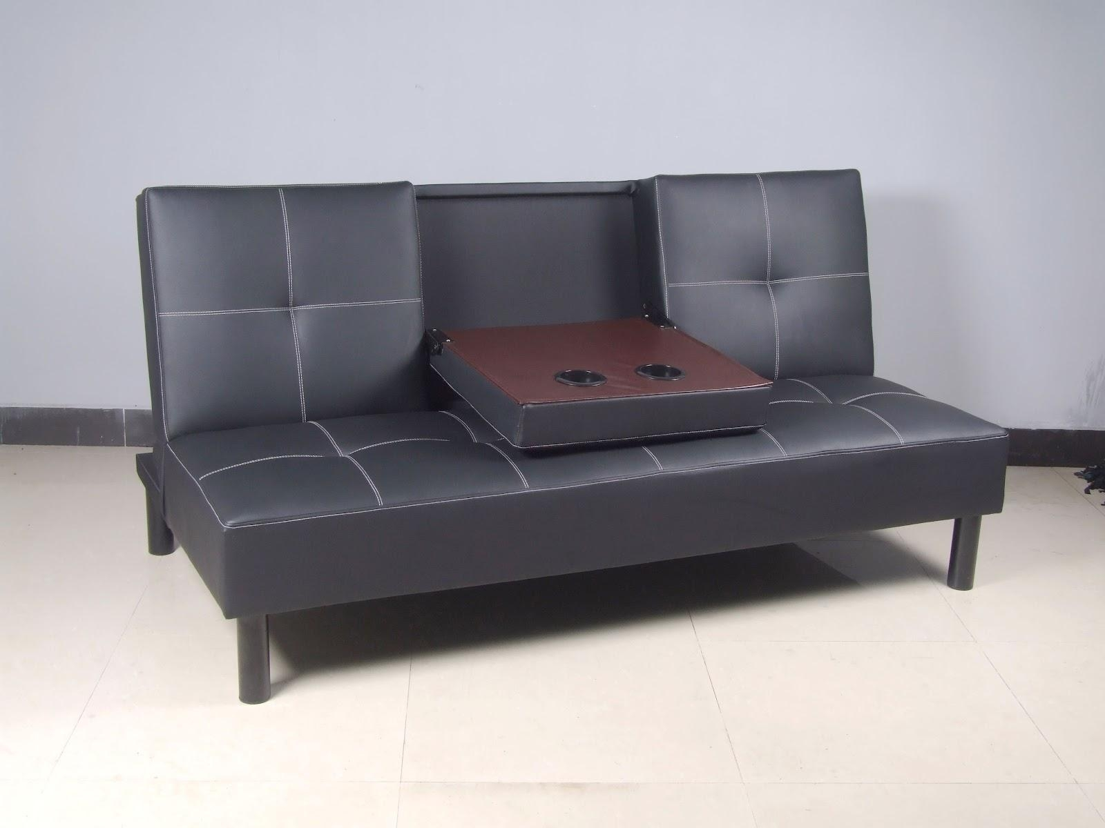 Sofas Center : Beautiful Faux Leather Sleeper Sofa Photo Design With Faux Leather Sleeper Sofas (Image 14 of 20)