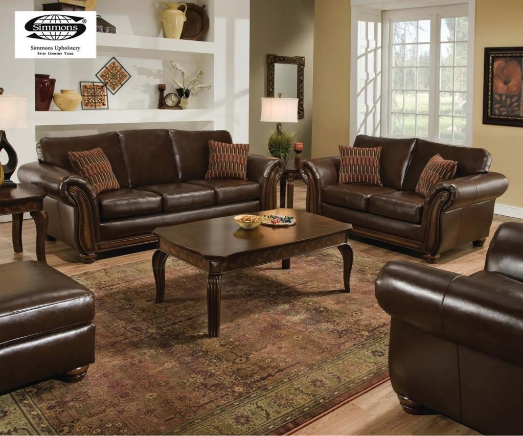 Sofas Center : Beige Leather Sofand Loveseat Set Imposing Images Throughout Sofas And Loveseats (View 8 of 20)