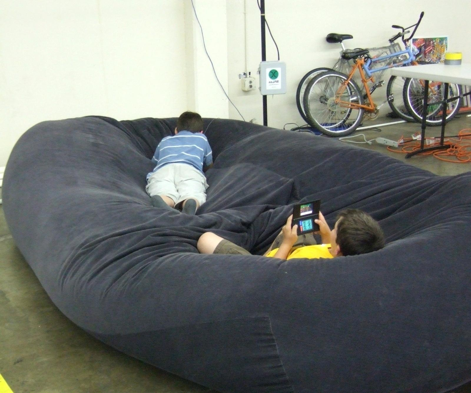Sofas Center : Best Bean Bag Ideas On Pinterest Big Chair Sofa Pertaining To Bean Bag Sofas And Chairs (View 10 of 20)