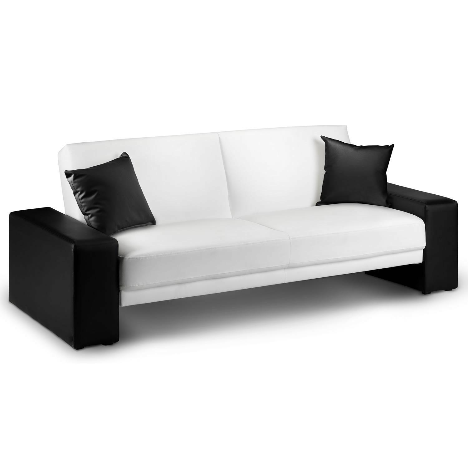 Sofas Center : Black And White Leather Sofa Set Auto Auctions Info Throughout Black And White Sofas (View 14 of 20)