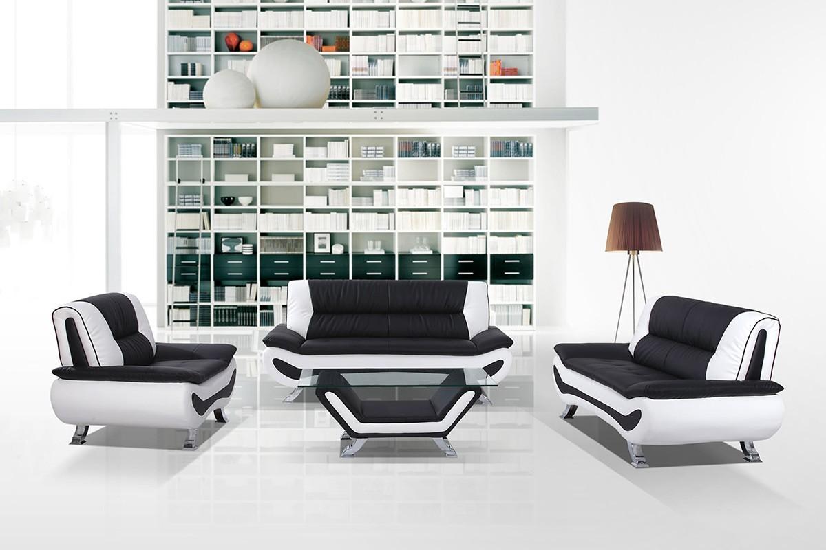 Sofas Center : Black And White Sofa Loveseat Slipcoversblack With Black And White Sofas And Loveseats (Image 11 of 20)