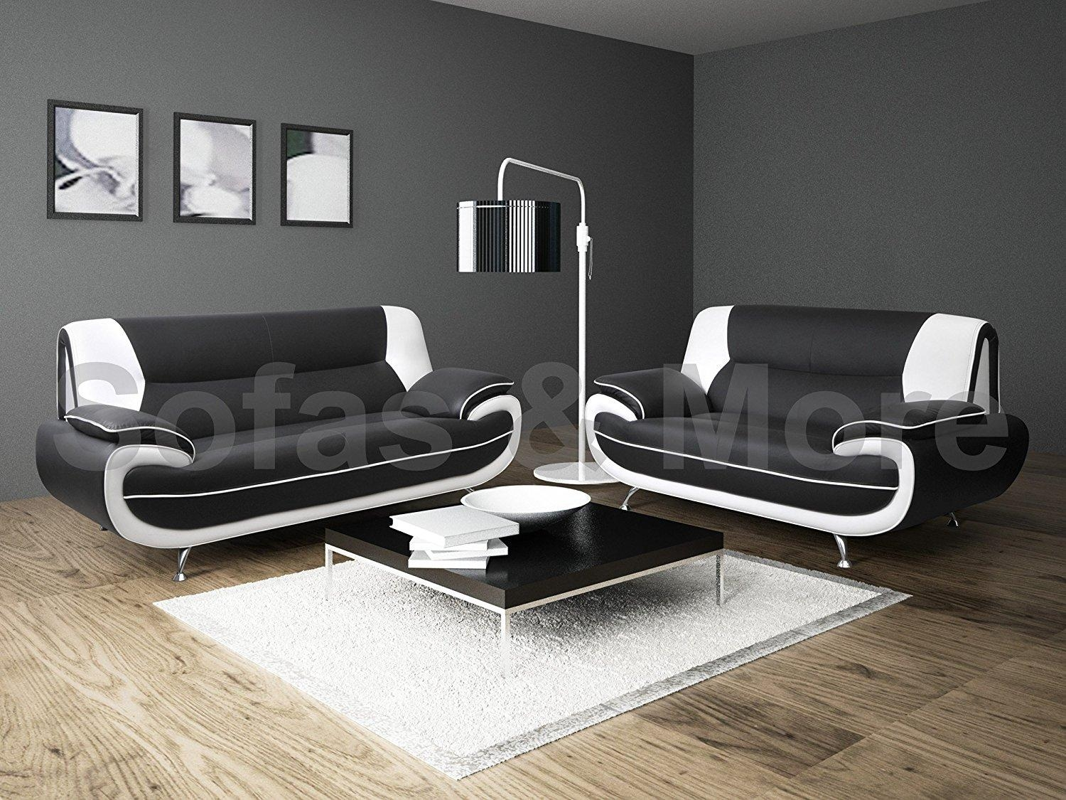 Sofas Center : Black And Whitefa Set Slipcoversfas For Sale In Black And White Sofas And Loveseats (View 6 of 20)