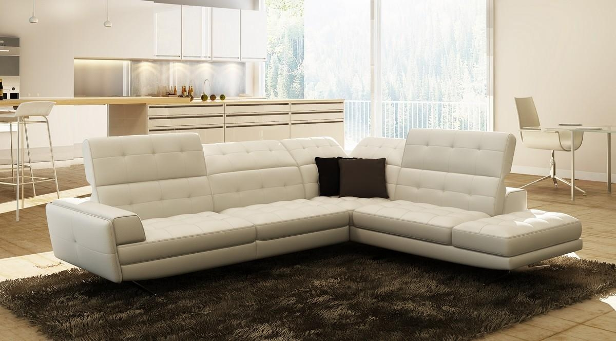 Sofas Center : Black Italian Leather Sectional Sofa Clearance Regarding Italian Leather Sectionals Contemporary (Image 17 of 20)