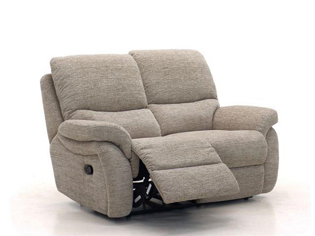 Sofas Center : Black Leather Seater Recliner Sofa Two And Intended For 2 Seat Recliner Sofas (Image 12 of 20)