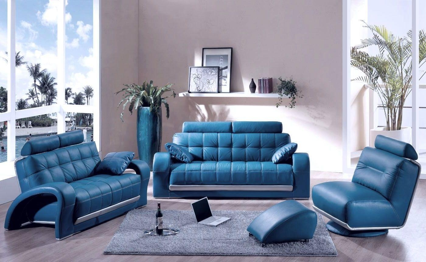 Sofas Center : Blue Leather Sofa Furniture Modern Mesmerizing In Blue Sofa Chairs (Image 19 of 20)