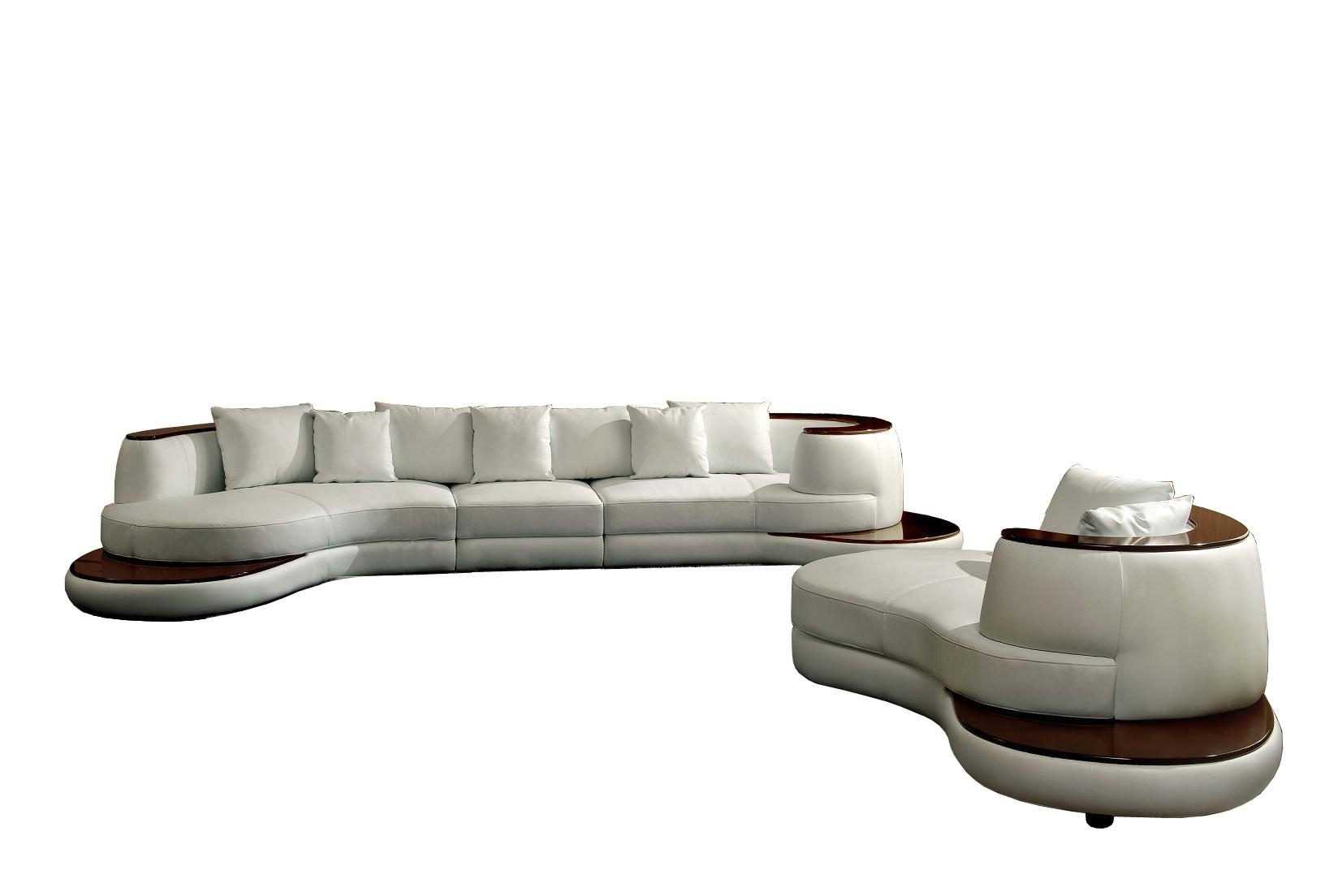 Sofas Center : Brooks Curved Sofasal Circular Outdoor Wicker Round In Round Sofas (Image 15 of 20)
