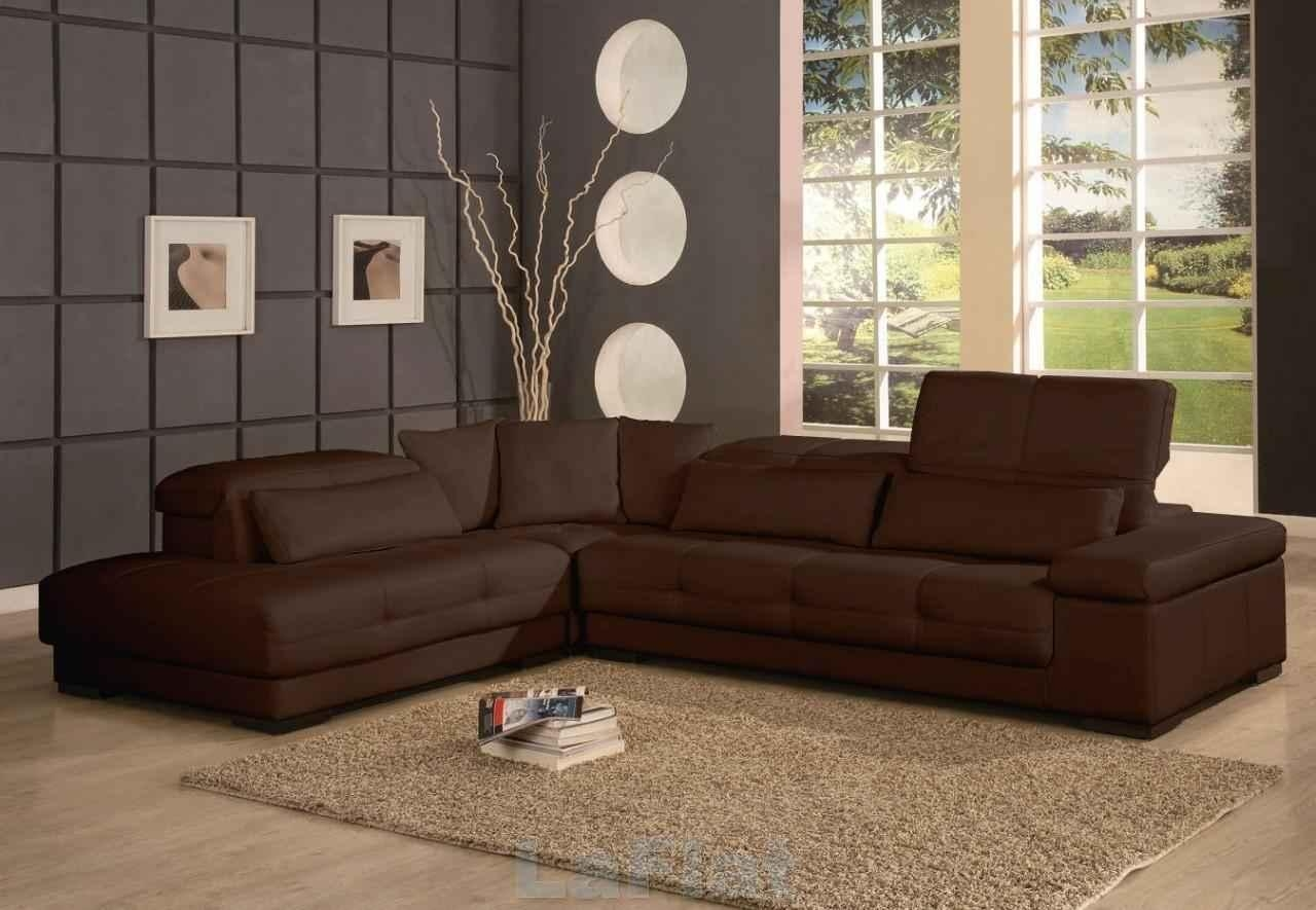 Sofas Center : Brown Sectional Sofas Sofa Decorating Ideas Leather With Regard To Chocolate Brown Sectional With Chaise (Image 15 of 15)
