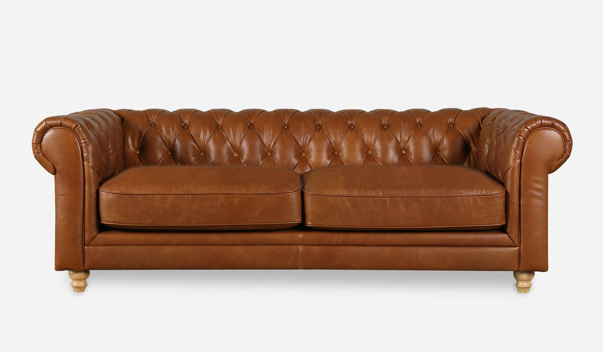 20 Top Camel Color Leather Sofas | Sofa Ideas