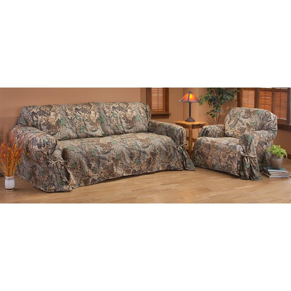 Sofas Center : Camo Sofa Covers Pet Coverscamo Mossy Oak Break Up Throughout Camouflage Sofas (View 7 of 20)