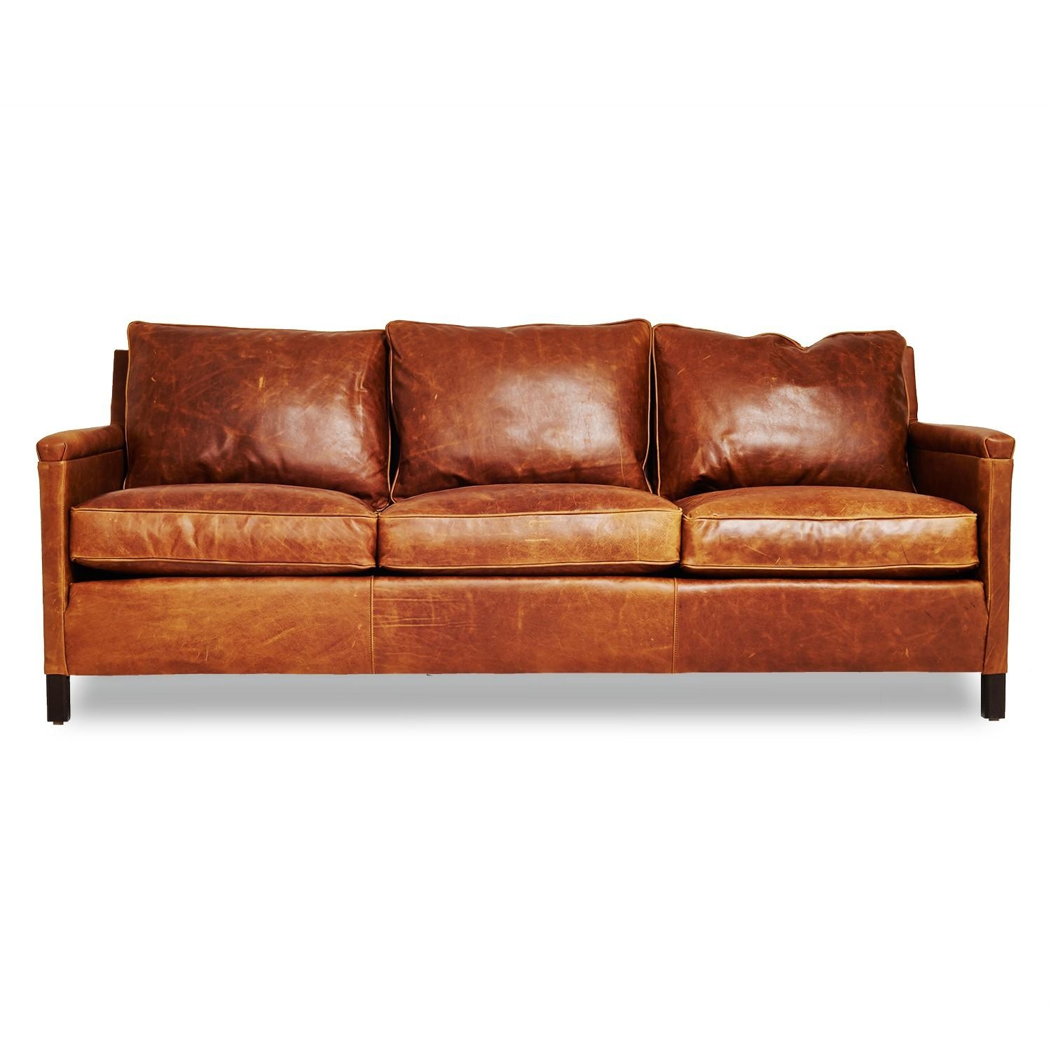20 top camel color leather sofas sofa ideas for Leather sofa set